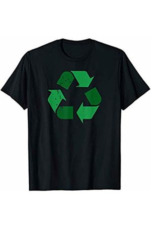 Miftees Vintage Green Recycle Symbol novelty Earth Day Recycling T-Shirt