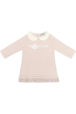Moncler Baby Casual Dresses - Baby stretch-cotton jersey dress