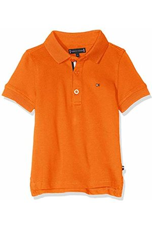 Tommy Hilfiger Baby Boys' Essential Slim Polo S/s Shirt, (Russet 800)