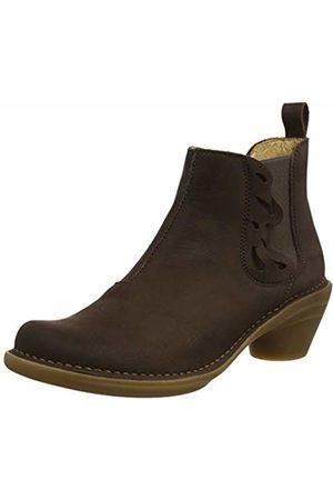 El Naturalista Women's N5334 Pleasant /Aqua Ankle Boots