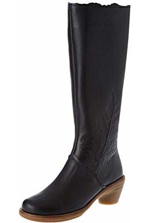 El Naturalista Women's N5356 Iris /Aqua High Boots