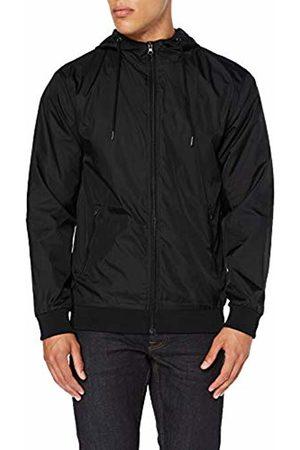 Build Your Brand Men's Windrunner Jacket, Blk 00017