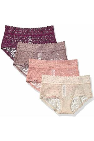 Amazon 4-Pack Lace Stretch Hipster Panty Warm