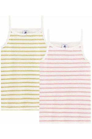 Petit Bateau Girl's Chemise À Bretelles_4991300 Vest