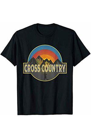 Long distant runners mountain design Cross Country Runner T-Shirt