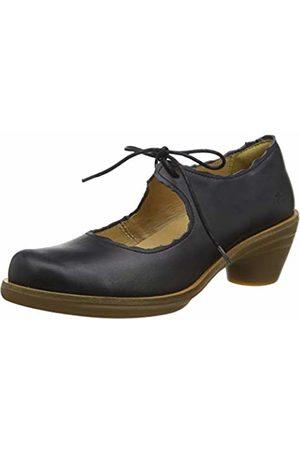 El Naturalista Women's N5354 Iris /Aqua Closed Toe Heels