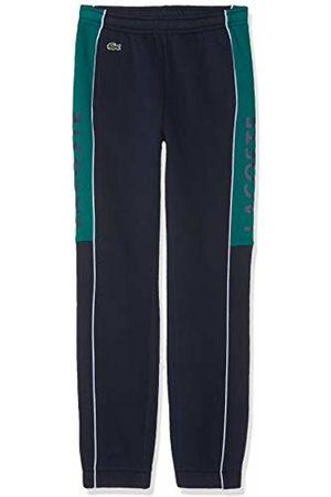 Lacoste Sport Boy's Xj9484 Sports Trousers, Lierre-Blanc-Marin 0sz