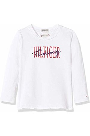 Tommy Hilfiger Baby Girls' Essential Graphic Tee L/s T-Shirt, Bright 123