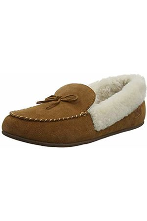 FitFlop Women's Clara Shearling Open Back Slippers