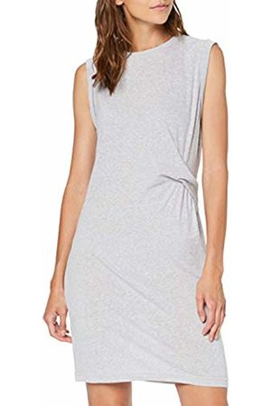 Bench Women's's Draped Knot Jersey Dress Summer Marl