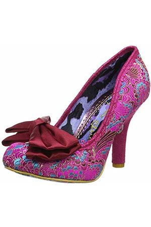Irregular Choice Women's Mal E Bow Closed Toe Heels, ( Ax)