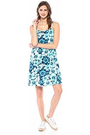 28 Palms Women Casual Dresses - Tropical Hawaiian Print Halter Shift Dress Casual