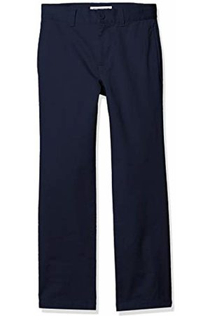 Amazon Straight Leg Flat Front Uniform Chino Pant Casual