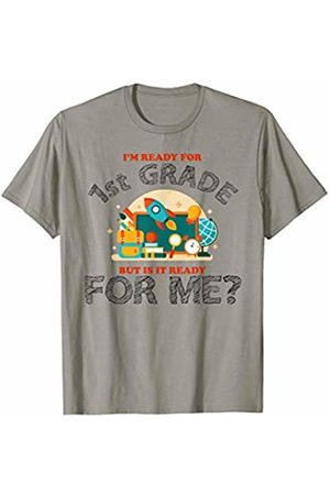 Hadley Designs Im Ready for 1st Grade But is it Ready for me Back To School T-Shirt