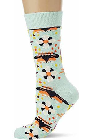 Happy Socks Women's Temple Blossom Sock 700)