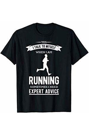 Tanim Mens Funny Running Shirt For Men Jogging Marathon Runner T-Shirt