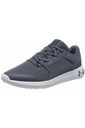 Under Armour Unisex Kid's Grade School Ripple 2.0 Running Shoes, (Wire/Ash Gray/Teal Vibe 401)