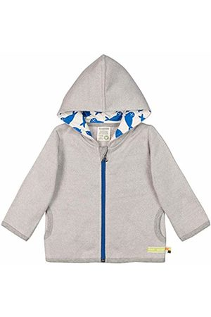 loud + proud Baby Jacke in Melange Strick Aus Bio Baumwolle, GOTS Zertifiziert Sweat Jacket, ( Gr)