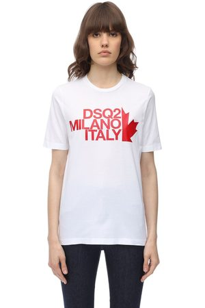 Dsquared2 Renny Fit Cotton Jersey T Shirt