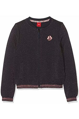 s.Oliver Girl's 53.908.43 1/377 Sweatshirt, (Dark Melange 59w4)