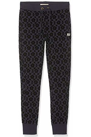 Scotch&Soda Girl's Slim Fit Sweatpants with All-Over Flock Print Trouser