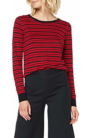 Scotch&Soda Maison Women's Striped Pull with Lurex Kniited Tank Top, ((Combo N 0593)