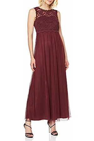 Vila NOS Women's Vilynnea Maxi Dress-Noos Party