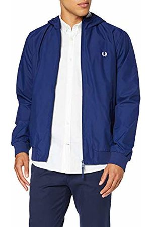 Fred Perry Men's J5513-hooded Brentham Jacket-600-m Hooded Jacket