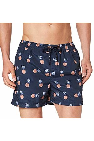Jack & Jones Men's Jjicali Jjswim Shorts AKM Fruit Navy Blazer