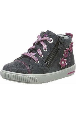 Superfit Baby Girls' Moppy Low-Top Sneakers, ((Grau/Rosa 20)