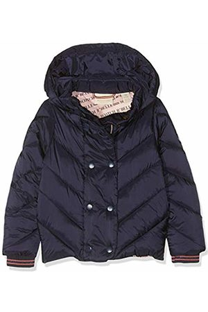 Scotch&Soda Girl's Lightweight Padded Jacket with Double Breasted Closure Night 002