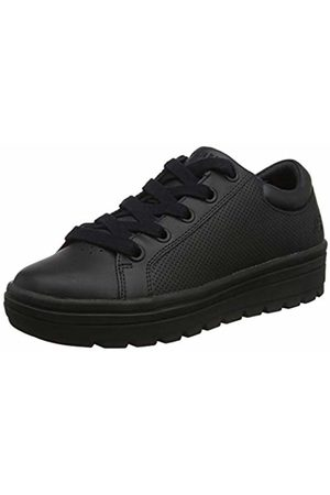 Skechers Women's Street Cleat-FRESHEST Trainers, Leather/Duraleather Trim # BBK