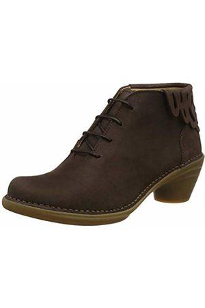 El Naturalista Women's N5333 Pleasant /Aqua Ankle Boots