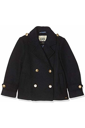 Scotch&Soda Girl's Classic Double Breasted Peacoat Jacket