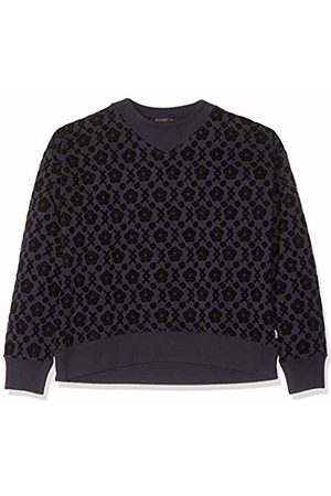 Scotch&Soda Girl's All-Over Printed Crew Neck Sweat in Boxy Fit Sweatshirt