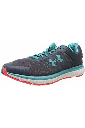 Under Armour Men's Charged Europa 2 Competition Running Shoes, (Wire/ /Teal Rush 400)