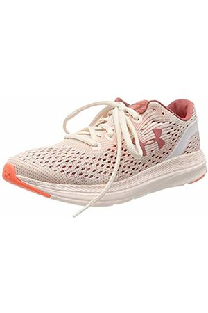 Under Armour Women's Charged Impulse MJVE Competition Running Shoes, Apex Peach Plasma/Fractal 800