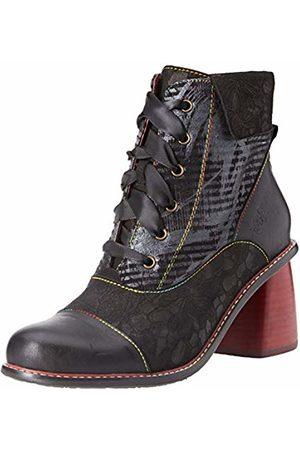 LAURA VITA Women's Evcao 11 Ankle Boots, Noir