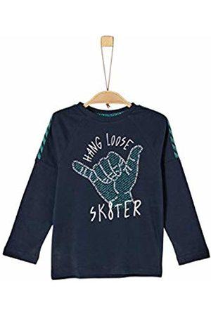 s.Oliver Boy's 63.908.31.8803 Long Sleeve Top, (Dark 5952)