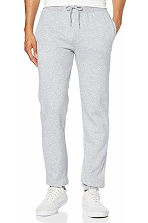 Build Your Brand Men's Heavy Sweatpants Sports Trousers, Heather 00431