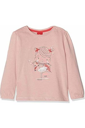 s.Oliver Baby Girls' 65.908.31.8700 Long Sleeve Top, (Dusty 4257)