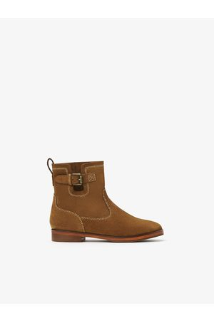 Zara Leather ankle boot
