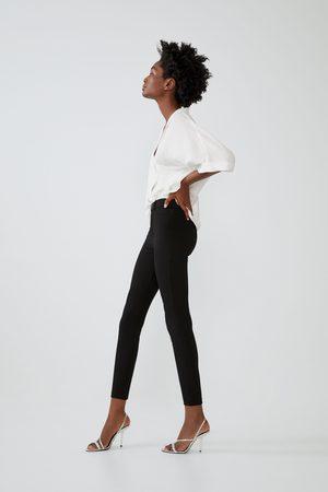 Zara Leggings with snap button