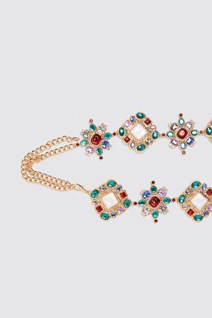 Zara Limited edition diamanté belt