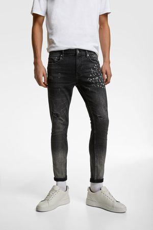 Zara Faded skinny jeans