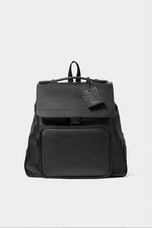 Zara Men Rucksacks - Leather backpack