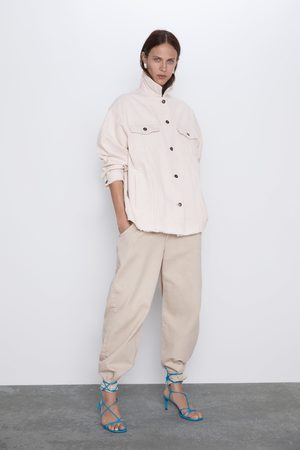 Zara Corduroy overshirt with pockets
