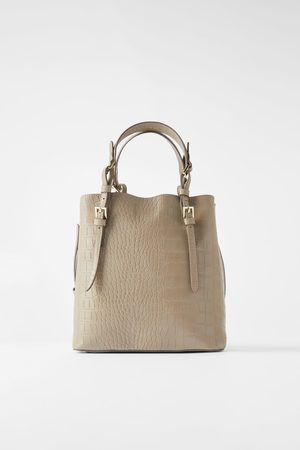 Zara Animal print tote bag