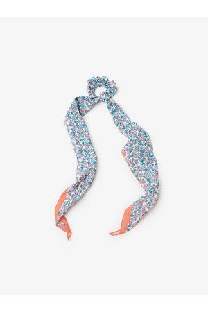 Zara Printed scarf with stretch detail