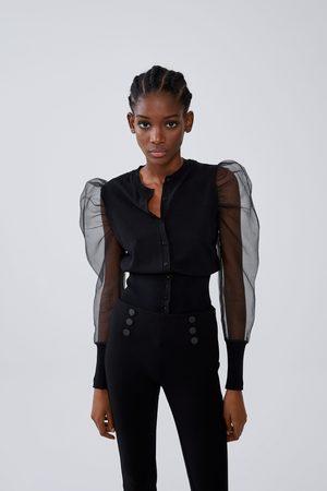Zara Buttoned leggings